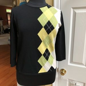 ANNE KLEIN Golf/Everyday Sweater, Sz XL